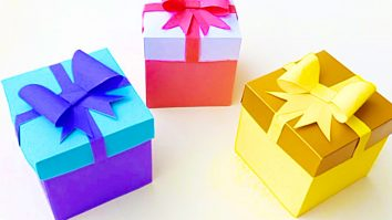 How To Make DIY Paper Gift Boxes